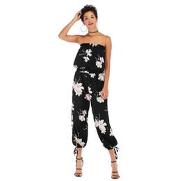 2019 tuta di disegno di modo Tute da donna di design tute per donna Casual pagliaccetti Moda donna abbigliamento M-XL all'ingrosso tuta di disegno di modo economici