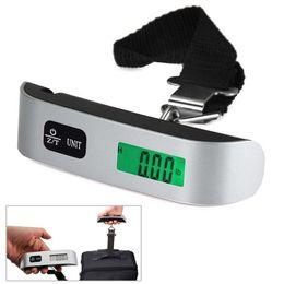 HU 25kg//5g Mini Balance de Poche Pese Bagages Peson Numerique Electronique Croch