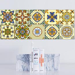 macchina fotografica split Sconti Marocco piastrelle sovvenzioni della decorazione di DIY Wallpaper Un Soggiorno Camera da letto Libertà unito spaccato impermeabile può spostare autoadesivi Dt062