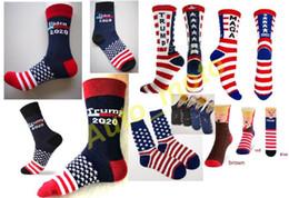 14 tipi Trump 2020 Biden MAGA Calze a maglia 3D Capelli finti Unisex divertente Sport Unisex Uomo Donna Calze Hip Hop Calzino Streetwear con pettine da stivali mela in tacco fornitori