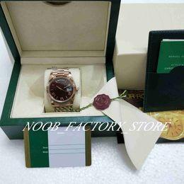 mm chocolates Desconto BP Fábrica V2 Melhor Super Movimento automática de versão 40 milímetros ouro rosa moldura de aço inoxidável Chocolate discar relógios Box Mens New Style