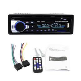 trattore digitale universale per auto Sconti Lettore MP3 universale per autoradio Bluetooth stereo FM audio USB / scheda di memoria digitale sicura / WMA / WAV Lettore veicolo in-dash