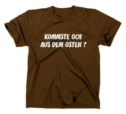 Nouveau sur T-shirt Fun Osten, Ostalgie, Ossie, DDR | CCCP, UdSSRFunny livraison gratuite Unisexe Casual Tshirt top ? partir de fabricateur