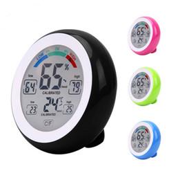 Thermomètre sans fil LCD numérique Hygromètre Intérieur Thermomètre de température électronique rond ? partir de fabricateur