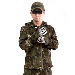 Argentina Venda bien al aire libre Camuflaje de serpiente de cascabel Python The Special Arms Trabajo Batalla Vestido 3 Color Chaqueta masculina Papel individual Hombres Suministro
