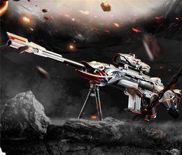 Pistola manuale del giocattolo di simulazione del bambino della pistola della pallottola dell'acqua singola da