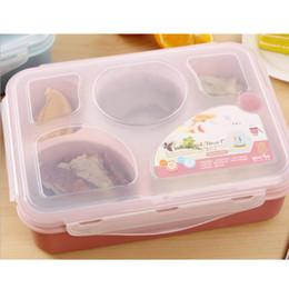 Wholesale 4 caja de bento compartimento con plato de sopa
