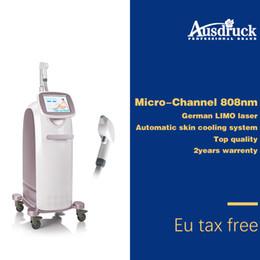 Canale laser online-3 macchina della depilazione del laser a diodi 808 della macchina 808nm di depilazione del laser a diodi della micro barra della Germania