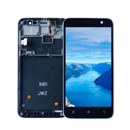 "2019 reparar reparo xperia Para 5.0 ""Lenovo A8 A808 A808 A808T Full Display LCD Touch Screen Painel Digitador Assembléia com Moldura Preto Livre ferramentas"