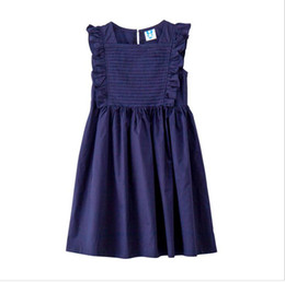 children korean clothing style Promo Codes - 2019 Big Girl Pleated Dresses Princess Sleeveless Kids clothing teenager Dress Children Cotton Korean Dress
