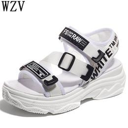 f2ce07281426f7 sandals flat shoes korean Promo Codes - Korean 2019 New casual Women sandals  Platform thick bottom