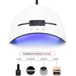 Temporizador portátil on-line-Secador UV do prego da lâmpada 36W para todos os tipos Gel 12 Leds Lâmpada UV para a máquina do prego que cura 30s 60s 90s temporizador USB portátil UV prego lâmpadas RRA853