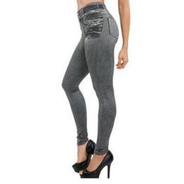 Canada 2019 nouveaux jeans populaires sans couture de femmes populaires de mode avec de vraies poches ont explosé en Europe et en Amérique supplier europe jeans pockets Offre