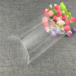 12pcs / lot 12x17.5x5cm en forme d'oreiller PVC Case Clear Seal étanche grande taille et capacité personnalisable boîtes en plastique ? partir de fabricateur