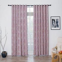 2019 cortina estilos plissados Modern simples Yexuenier meia-sombra cortinas para sala de jantar sala de estar.