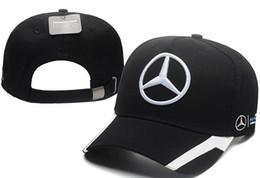 2019 coton casquette 2019 broderie F1 racing coton casquette de baseball réglable snapback casquette de golf chapeaux de voiture pour femmes hommes été casquette en os nouveau gorras papa coton casquette pas cher