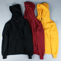 Suéter de invierno suelto coreano online-El otoño y el invierno de Nueva capucha suéter largo femenino versión coreana de la marea floja Estudiantes