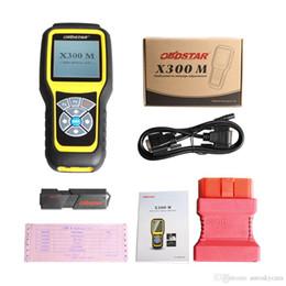 peugeot specials Sconti Correzione OBDSTAR X300M OBDII veicolo Strumento Funzione X300 M Special Diagnose Tool (Tutte le vetture possono essere regolati via OBD) Aggiornamento della carta da TF