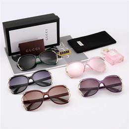 Marcas vibradores on-line-Designer de marca de moda óculos de sol para mulheres óculos de sol oversized para mulheres retro fraude vidro vibrador para óculos de sol de condução clássico casuais