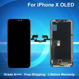 Pour iPhone X Écran LCD Écran Tactile Digitizer Grade A +++ Qualité OLED GX avec Garantie à Vie Livraison Gratuite ? partir de fabricateur