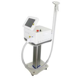 Rimozione dei capelli del laser diodo portatile online-macchina portatile indolore professionale di depilazione del laser a diodi 808nm / 755nm + 808nm + 1064nm