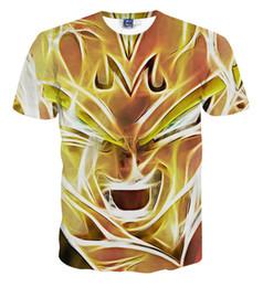 2019 niños camisetas de invierno Dragon Ball Anime camiseta 3d niños niños Dragon Ball Z Goku ropa Dbz camisetas 12-20y Y19051003