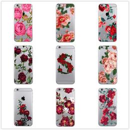 Casos bonitos do telefone on-line-Cool rose colorido bonito acessórios do telefone case para apple iphone 8 7 6 6 s plus x xs max 5 5s se xr capa ypf31-62