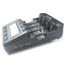 SkyRC и мощного mc3000 Bluetooth смарт-зарядное устройство совместимо с литий-ионными, Eneloop компании Sanyo, аккумулятор Ni-Mh, батарея Ni-компактного диска, Ni-Zп, батарея LiFePO4, Lilo4.35 батареи cheap sanyo charger от Поставщики зарядное устройство sanyo