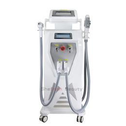 Multifuncional 4 em 1 IPL RF E-luz ND Yag Máquina de Remoção de Tatuagem Do Laser Máquina de Remoção de Rosto Corpo de Levantamento de Rosto Body Shaping Beleza de