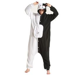 Adultos Dangan Ronpa Monokuma Urso Cosplay Mulheres Jumpsuit dos homens do Partido do Dia Das Bruxas Cosplay trajes de camuflagem de