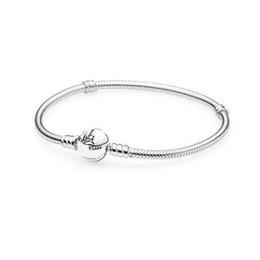 schloss sterling charme Rabatt Xiaohui 100% 925 Sterling Silber Klassische Schloss Armband Klar CZ Charm Bead fit DIY Die Kristall Armbänder Modeschmuck Geschenk