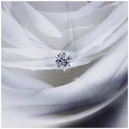 Damen-silber-kette zum verkauf online-Heißer Verkauf Boutique 925 Silber weibliche Halskette Schmuck transparente Linie Zirkon 925 Silber schöne glänzende Schlüsselbein Kette Damen