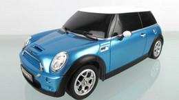 Melhores carros brinquedos on-line-Venda Única Brinquedos Melhor Qualidade 1: 24 Escala Médio Rc Mini Cooper Rc Carros / Rc Brinquedos / Rádio Carro Carro De Controle Remoto