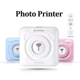 Deutschland Tragbarer Bluetooth Pocket Photo Drucker 58mm Mini Wireless Pocket Thermodruck USB Anschluss Impresoras Fotos Versorgung