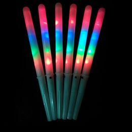 2019 suprimentos de festa de luz negra Fontes do partido Colorido LED Varas Brilham Acender Floss Vara para Festa de Aniversário de Natal Prop Varas Flashing
