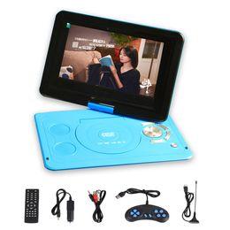 placa de tv analógica Desconto 13.9 '' Hot Sales Car DVD Player DVD Players portáteis FM TV Analógica Jogos de CD VCD com Leitor de Cartão USB