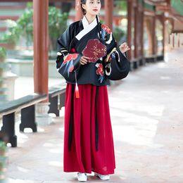 Ropa de damas chinas online-2019 Verano Hanfu Nacional Antiguo Traje de Cosplay Chino Mujeres Antiguas Hanfu Ropa China Vestido de Dama de Hada DL3756