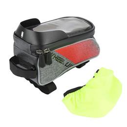 RAD OBEN Touchscreen Front Top Tube Fahrrad Taschen Regendicht MTB Rennrad Taschen 6,0 Zoll bike Handy-fällen Heißer Verkauf # 331801 von Fabrikanten
