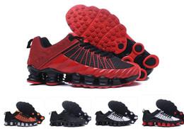 2019 Shox tlx Deliver Мужские кроссовки Мужские кроссовки Спортивная спортивная обувь Hot Corss Пешие прогулки Бег Прогулки на свежем воздухе US 7-12 от