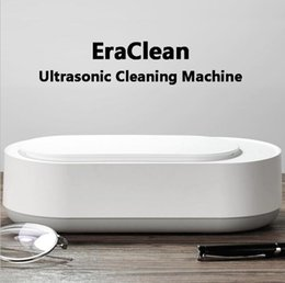 Gläser reiniger maschine online-New Xiaomi Youpin EraClean Ultrasonic Cleaning Machine 45000Hz High Frequency Ultrasonic Cleaner for Watches Jewelry Glasses Cleaning 303578