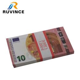 Canada Toy Money 100-Pack Copier des factures en euro, un double recto verso pour un cadeau de Noël pour enfants Offre