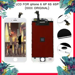 Pantalla LCD ORIGINAL del 100% para el iphone 6 6s Digitizador de la pantalla táctil para el reemplazo de la asamblea de reemplazo de la asamblea del Lcd del iphone 6 6S MÁS 6S desde fabricantes