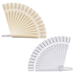 32 pcs Art Dicas Falsas Varas Polonês Prática Display Fan Board Ferramenta de Design Cartão de Cor Display Stand Kits Manicure de Fornecedores de expositores de design