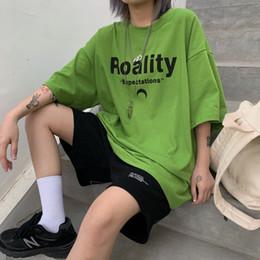 2019 trend tees T-shirt da donna a maniche corte 2019 New coreana Suzuki Harakata stampata a maniche lunghe per il tempo libero sconti trend tees
