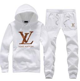Polo hoodie uomini online-Fashion Design elegante di marca Tuta da uomo Felpa con cappuccio polo Felpe Abiti da jogging Giacca + Pantaloni Marca Mens Tute da uomo Tuta impermeabile