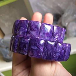 шароитовые бусы Скидка natural charoite stone  bracelet natural gemstone bangle fine jewelry for woman for gift wholesale !