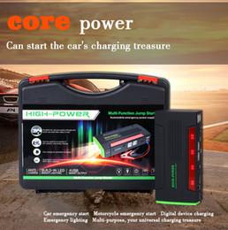 démarreurs Promotion Super Power Car Jump Starter Power Bank 600A Chargeur de batterie de voiture portable 12V Dispositif de démarrage Essence Diesel Démarreur