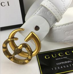 1abd29fea Free shipping 2019 Hot selling new Men women gray Dragon belt Genuine  leather Letter belts Animal belt Snake head belt