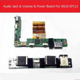 2019 schede audio Scheda audio Flex Power Volume Flex Board per ASUS Eee Slate EP121 HDMI Power Audio Sound Board Sostituzione del pannello testata sconti schede audio