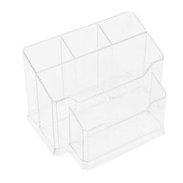 5cell Acryl Nagelkunstwerkzeuge Halter Box Dateien Pinsel Display Organizer Stifte Halter Polnischen Kunststoff Fall Make Up Tool